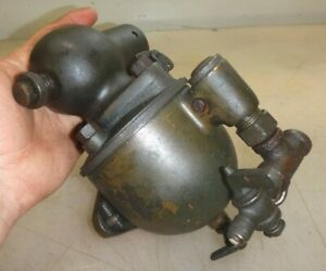 Large Unmarked Carburetor Or Fuel Mixer Gas Engine Antique Boat Car Tractor
