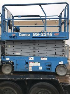 Genie Gs 3246 Self propelled Electric Scissor Lift