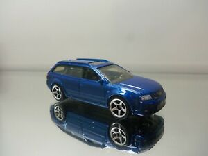 2018 Matchbox 2004 04 Audi Avant Rs 2 Wagon Mf Blue Mint Loose 1 64 Scale