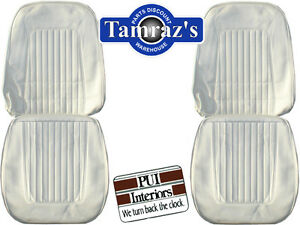1967 1968 Camaro Standard Front Rear Seat Covers Upholstery Colors Pui New