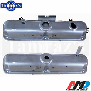 1970 T A Challenger Aar Cuda Small Block Valve Covers Pair Amd