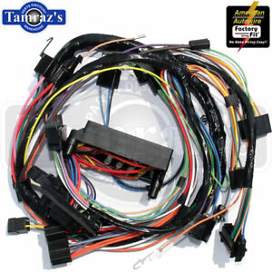 67 Camaro Firebird Dash Wiring Harness Automatic Trans Console Warning Lights