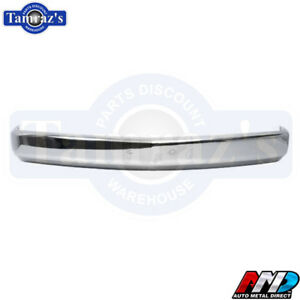 88 98 Chevy Gmc Truck Front Bumper Chrome Plated Amd W License Bracket Holes