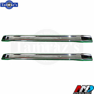 66 77 For Ford Bronco Front And Rear Bumper Oe Quality Chrome Amd Tooling