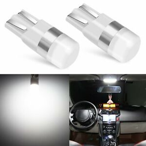 6x 9145 5202 White Led Fog Driving T10 Light Bulbs For 2007 14 Cadillac Escalade