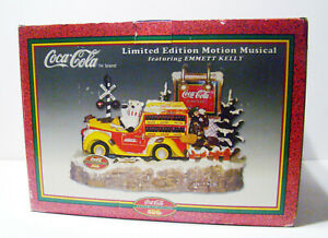 New Vintage 1999 COCA COLA Limited Ed MOTION MUSICAL Emmett Kelly Display NIB