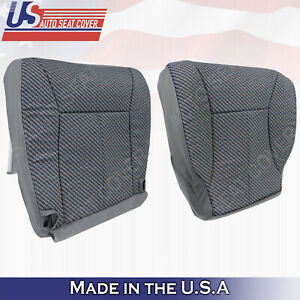 W T Regular Cab 1998 To 2002 Dodge Ram 1500 Slt Front Cloth Seat Covers Gray