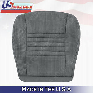 2006 2007 2008 2009 Dodge Ram 1500 Regular Cab Driver Cloth Seat Covers Gray