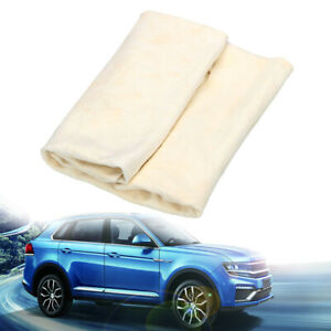 30x50cm Natural Chamois Leather Car Drying Towel Cleaning Cloth Washing Shammy
