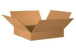 25 Oversized Vinyl Lp Multi Mailer Corrugated Boxes 13 l X 13 w X 4 h Kraft