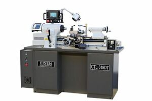 Eisen Ctl 618dt Super High Precision Toolroom Lathe With Digital Threading