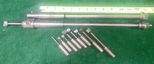 South Bend Clausing Hardinge Lathe Milling Attachment Tool Holder Set