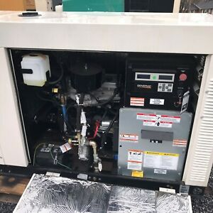 25kw Generac Natural Gas Generator Encl New Surplus Serviced And Tested