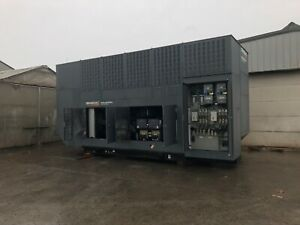 1000kw Generac Diesel Generator dual 500kw Tested And Serviced 228hrs