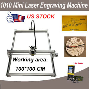 100 100cm Mini Laser Engraving Machine Router Kit Diy Engraver 15w Laser Module