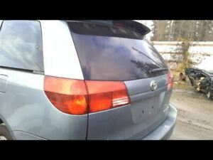 Trunk hatch tailgate With Spoiler Without Power Lift Fits 04 05 Sienna 15119526