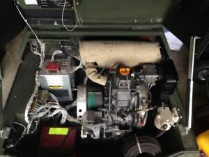 Fermont Mep 831a 3kw Diesel Generator Only 5 Hours Tactical Quiet Military