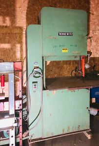36 Tannewitz Model G1ne Vertical Band Saw S n 80086