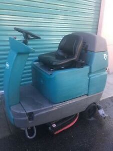 Tennant T7 32 Riding Floor Scrubber Save With Local Pickup