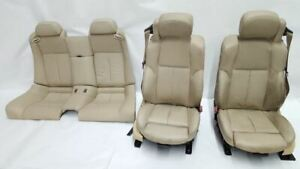 Full Sets Of Seats Convertible 2006 2010 Bmw 650ci M6 Leather Power