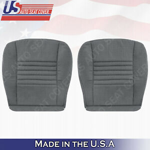From 2006 2009 Dodge Ram 1500 Passenger Driver Front Lower Cloth Cover Gray