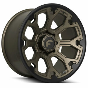22 Forgiato Flow Terra 002 Bronze Forged Concave Wheels Rims Fits Ford Raptor