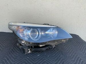 08 10 Bmw E60 E61 528i 550i M5 Oem Right Dynamic Xenon Hid Headlight Assembly
