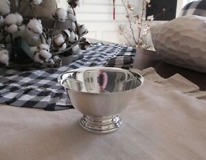 Vintage Amston Sterling Silver Paul Revere Reproduction Bowl Compote 240