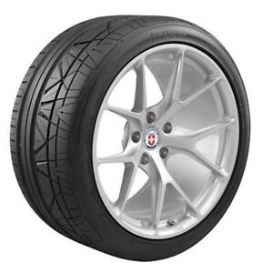 Pair 2 Nitto Invo Tires 255 35 22 Radial Blackwall Dot Approved 202960