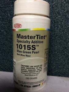 1015 S Dupont Master Tint Color Blue Green Pearl 150 Grams 69 Free Ship 2 Days