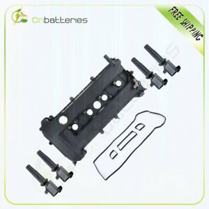 Engine Valve Cover W gasket ignition Coil Pack For Ford Focus Mercury Mariner