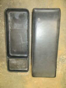 Porsche 914 Center Tray And Cushion Set Good Used Factory Parts 91455100000 Nice