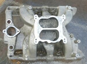 Edelbrock Performance Rpm Manifold 1965 And Up Pontiac V8 Engines Great Cond
