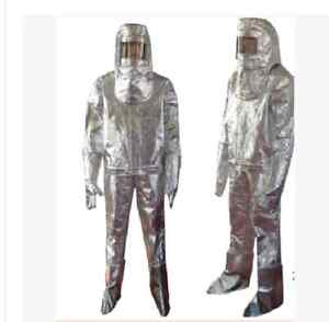 Thermal Radiation 500 Degree Heat Resistant Aluminized Suit Fireproof Clothes
