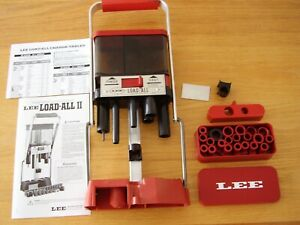 Lee Load All 20 Gauge Reloader With Bushings Instructions and Extra Parts