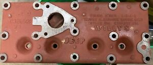 Willys Jeep 4 Cyl Early L Head Original Engine Cylinder Head