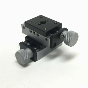 Edmund Optics 36 036 Leadscrew Drive Mini X y Axis Linear Stage Table 5mm