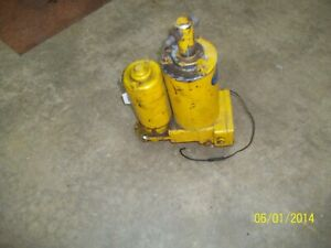 Used Working Meyer E47 Snow Plow Pump Good Used Sold As Is