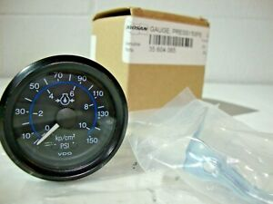 Doosan Genuine Parts 35 604 065 Vdo Oil Pressure Gauge 150psi