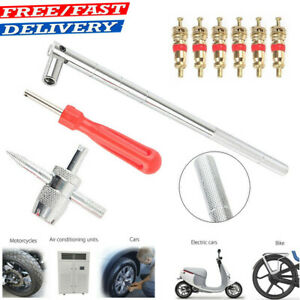 Valve Stem Puller Installation Hd Chrome Tool Car Tire Changer Plug Core Remover