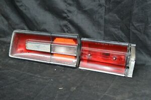 1968 Plymouth Fury Iii Trunk Lid Tail Light Housing Left Driver Side Taillight