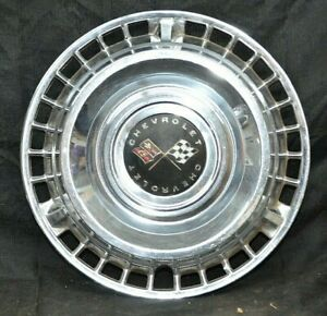 1961 61 Chevrolet Chevy Impala Bel Air Biscayne Hubcap Wheel Cover 14 Inch Oem