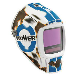 Miller Electric 280051 Welding Helmet auto darkening nylon