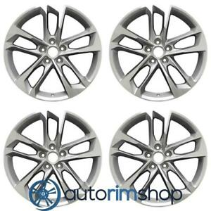 Chevrolet Camaro 2017 2019 19 Oem Staggered Wheels Rims Set Machined With Si