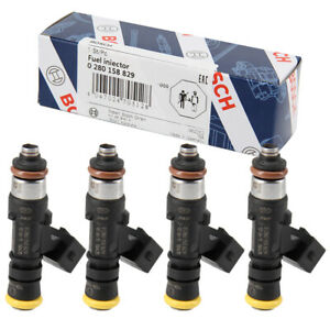 4pcs Bosch Oem 210lb 2200cc High Impedance Fuel Injector For Mazda 0280158829