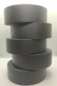 5 Pack 2 Inch Black Bron Gaffers Tape 60 Yd Rolls Lot Of 5 Free Priority
