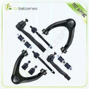 10pc Suspension Kit Of Control Arms Ball Joint Tie Rod For 1996 2000 Honda Civic