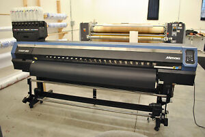 Mimaki Ts300 p 1800 Fabric Roll To Roll Textile And Dye Sub Printer