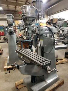 Bridgeport Series L 2hp Variable Speed 42 Inch Table inv 31153