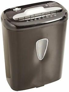 6 Sheet High security Micro cut Paper And Credit Card Home Office Shredder